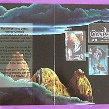 1995年《CASPER》澳洲電話卡 - 全套三張連摺
