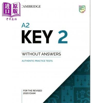 B1 Preliminary 2 Student's Book with Answers with Audio 英文原版