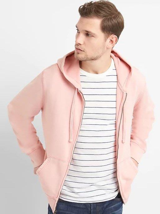 GAP 連帽 外套 現貨 素面 粉色 沒有logo 美國甜心屋