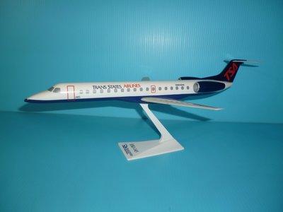 珍上飛模型飛機:ERJ-145 (1:100) TRANS STATES(編號:ERJ14503)