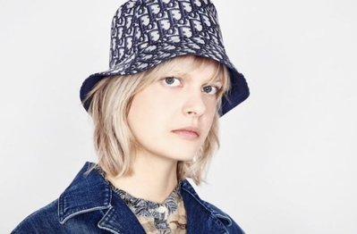 [Ohya精品代購] 2019 全新代購 Dior TEDDY-D CD OBLIQUE 漁夫帽