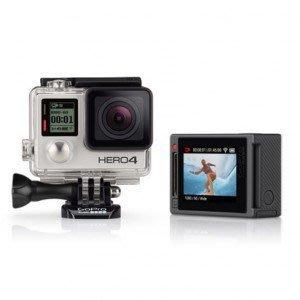 租GOPRO HERO4抵用券[日租150元]潛水、運動內建觸控螢幕的銀色攝影機+64G記憶卡+2顆電池+2種保護殼