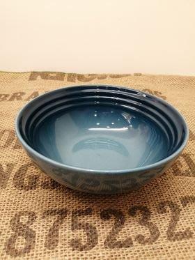 【 LE CREUSET】早餐穀片碗-水手藍(16cm).特價660元.原價:980元.竹北可面交.可超取