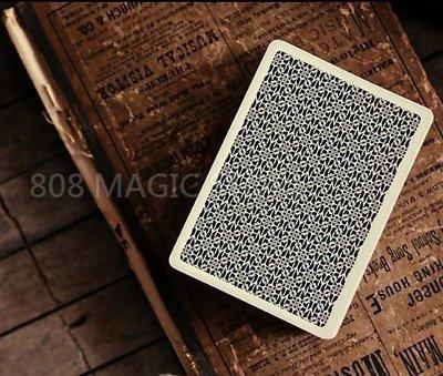 [808 MAGIC]魔術道具  Madison Dealer Playing Cards DM撲克牌 - BLACK