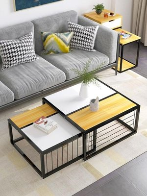 億家達客廳小茶幾簡約現代小戶型邊幾創意多功能沙髮桌經濟型邊桌  WD    全館免運