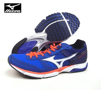 ◎跑者◎【MIZUNO 美津濃】WAVE EMPEROR 3 皇速 /藍橘 J1GA197601 M898
