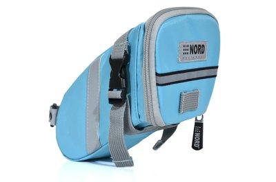 【NORD】Castledale 自行車特式座墊(坐墊)/車尾 包/袋(大碼)-粉藍 (RB058B) 免運