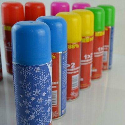 聖誕 聖誕節玻璃裝飾用品 250ML聖誕彩噴噴雪罐 玻璃噴畫 雪噴