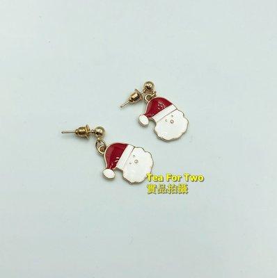 出清特賣- 現貨no2 - 超級可愛聖誕氣氛-聖誕老人耳環
