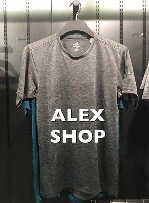 艾力克斯 ADIDAS FREELIFT GRADIENT 男 CW3434 灰 排汗透氣 運動短袖T恤 4