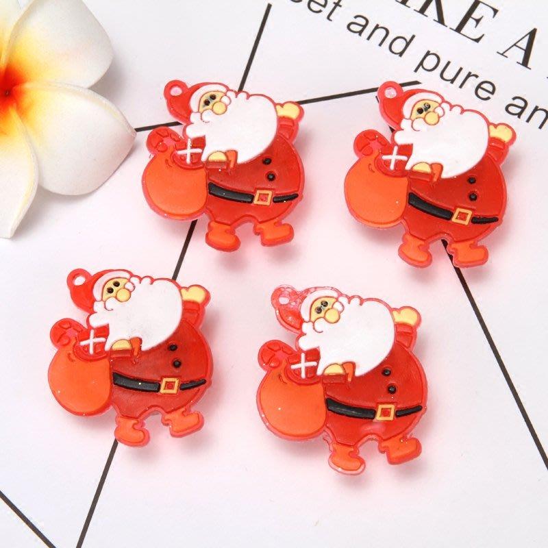 聖誕閃燈小胸針老人雪人別針聖誕節酒店商場活動可愛胸章兒童禮物