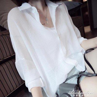 ZIHOPE 薄款襯衫女韓范雪紡外搭上衣寬鬆大碼襯衣防曬衣百搭顯瘦ZI812