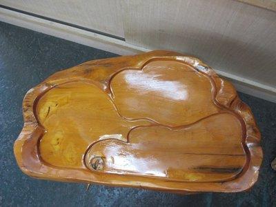 二手舖 NO.2729 天然原木 大茶盤 居家擺飾.實木茶盤 樹瘤 自然雕刻品 非檜木 肖楠 樟木 老杉