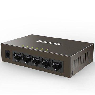 全網好物推薦 騰達交換機4口8口千兆百兆 家用網線分線器 多口寬帶網路分流器