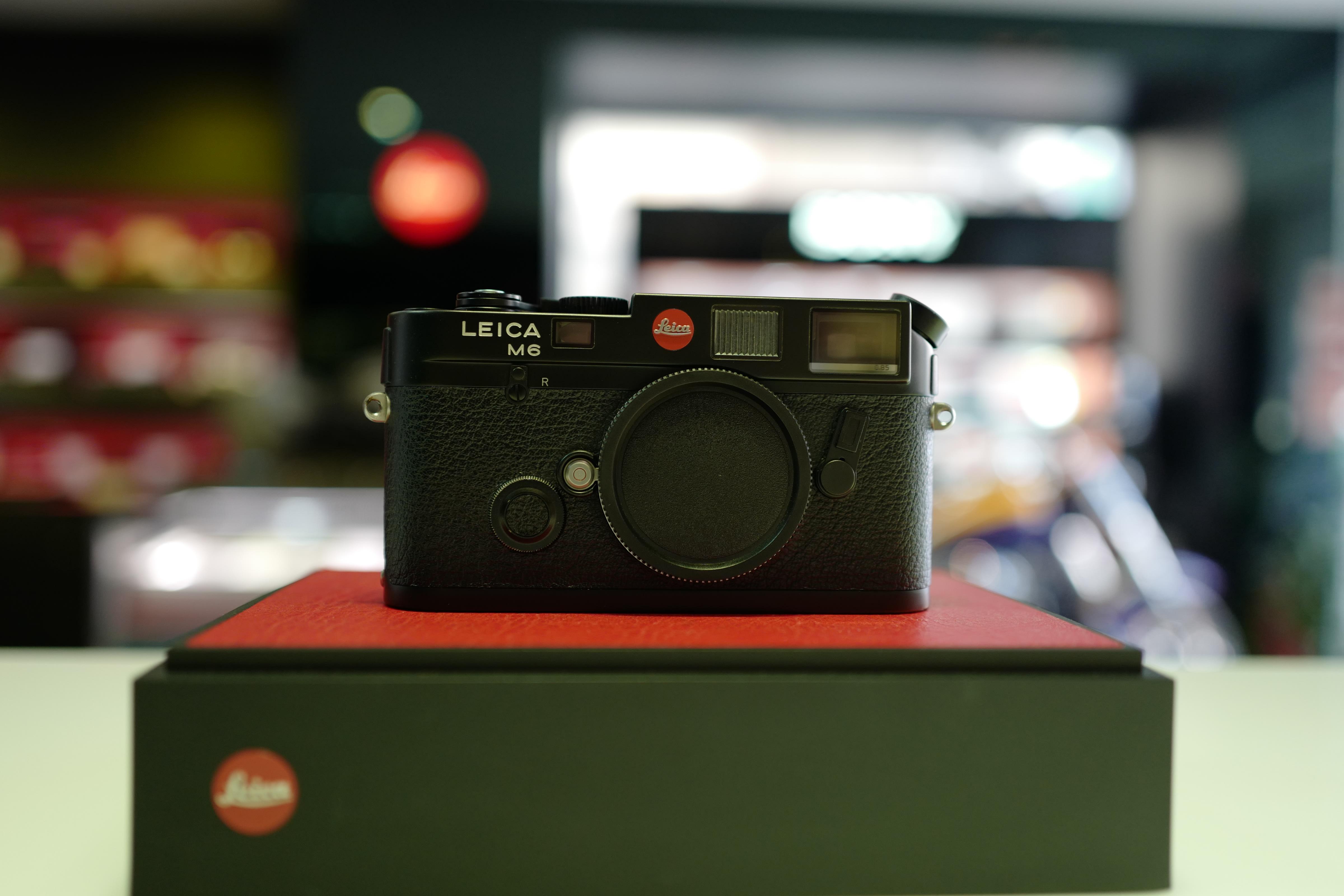 【日光徠卡】Leica M6 0.85 黑色 連動測距底片相機 二手 #2424***