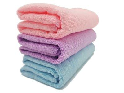 超細纖維壓花小熊毛巾 多用途毛巾 洗臉巾 花朵吸水毛巾.約35x75公分_FC-037