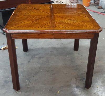 宏品二手家具館~全新中古傢俱買賣 E40314木頭色餐桌*2手桌椅拍賣 會議桌 電腦桌 oa辦公桌 寫子桌 書桌