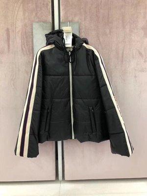 [4real]Gucci 18fw 側邊Logo 羽絨夾克