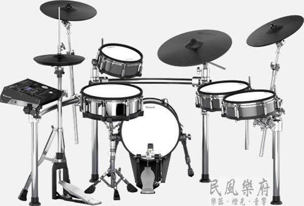 《民風樂府》Roland TD-50KV 旗艦級電子鼓 職業演出與專業錄音室的最高極致表現 歡迎來電詢價