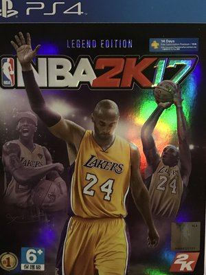 2K17 NBA PS4 傳奇珍藏版 Legend Edition 亞洲中文版