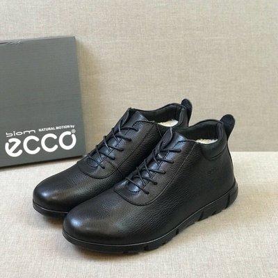 ECCO愛步商務男鞋 新款羊毛鞋39-44