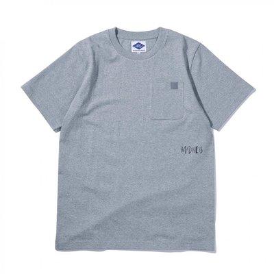 【HYDRA】MADNESS MDNS NOTICE POCKET TEE 余文樂 口袋 短T 灰色【MDNS003】