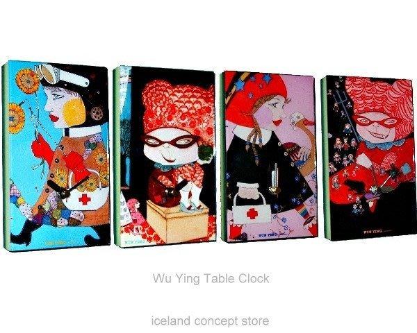 iceland ~ 造型時鐘烏蠅系列桌鐘 (賠錢賣NT$1780,買到賺到)