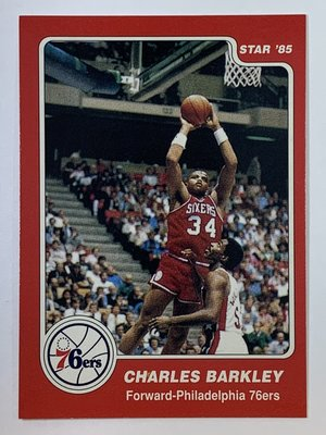 1996-97 Topps 1984 Star Reprint #202 Charles Barkley RC