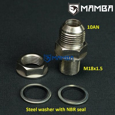 Turbo Oil Pan / sump Return 0AN to M18x1.5 Fitting no Weld
