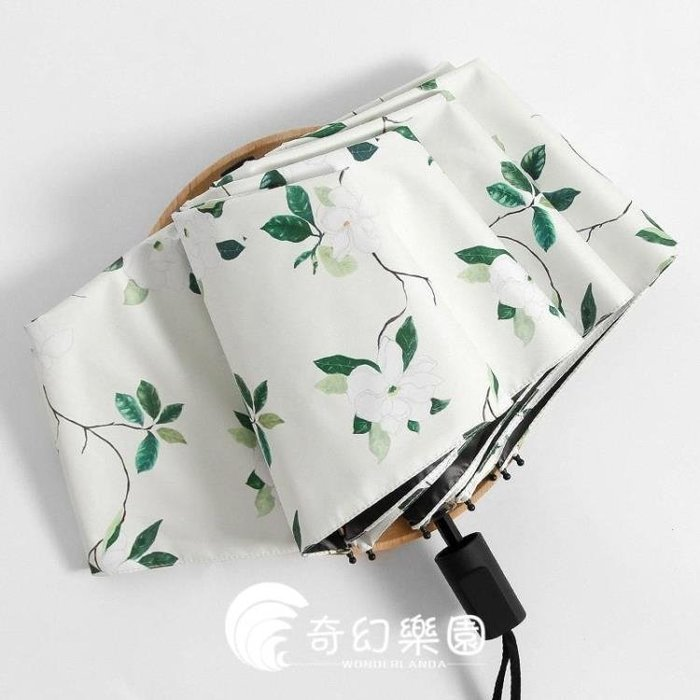 雨傘-雨傘女折疊韓國小清新晴雨兩用女神太陽傘遮陽傘防曬防紫外線簡約