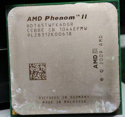 電腦水水的店 AMD Phenom II X6 1065T 2.9Ghz AM3六核心處理器/直購價$1300