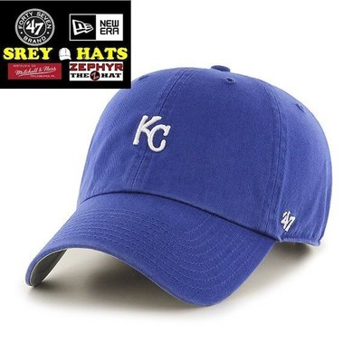 [SREY帽屋]預購*47 Brand CLEAN UP Base Runner 堪薩斯皇家 小LOGO 棒球帽 老帽