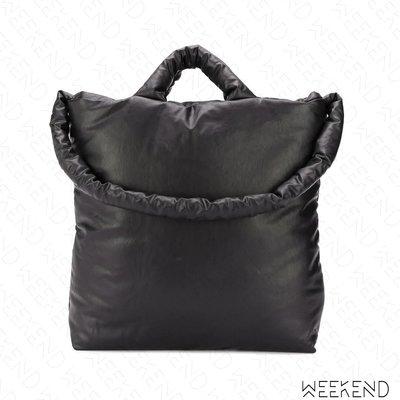 【WEEKEND】 KASSL EDITIONS 手提 肩背 托特包 太空包 黑色 小款