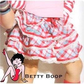 超低價470元 貝蒂大女童裝春夏迷你短裙 立體層次蛋糕式  桃紅、藍黃格紋2色 適穿95-165cm