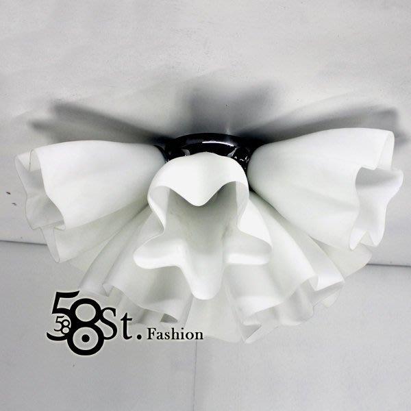 【58街】義大利設計師款式「喇叭花吸頂燈」複刻版。GZ-180