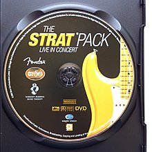 DVD/ The Strat Pack - Live In Concert 二手亞版