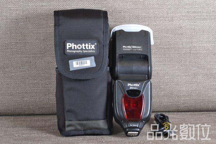 【品光數位】Phottix Mitros+ TTL 閃光燈 閃燈 FOR CANON #86833