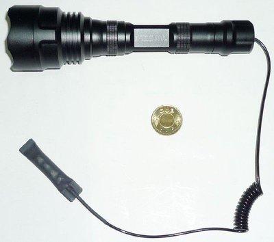 手電筒 TrustFire 18650 筒身專用的 老鼠尾巴開關 老鼠尾蓋開關