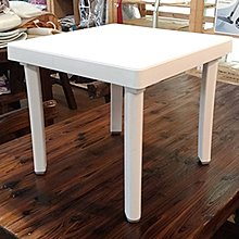 【艷陽庄】四方小茶几塑膠桌四方桌邊桌戶外桌塑膠茶几休閒桌椅
