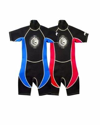 【廿一】全新 KAMACHI 童裝游水保暖衣連身膠衣保溫泳衣Kids-Aqua-Suit(KV012) 冬日必備 室內冷氣