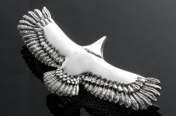 【創銀坊】印地安 老鷹 925純銀 墜子 翅膀 羽毛 哈雷 騎士 酋長 goro's 琉璃珠 皮繩 項鍊(P-1704)