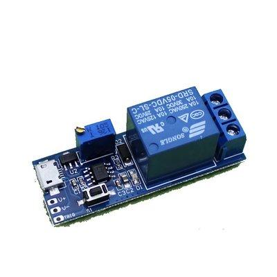 (R027) 寬電壓 5V-30V 觸發 延時繼電器 定時器模塊 延時導通