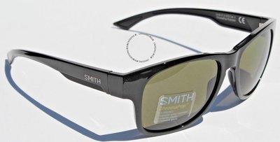 SMITH OPTICS Wayward POLARIZED太陽眼鏡黑色/灰色綠色ChromaPop NEW  219
