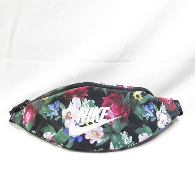 NIKE HERITAGE HIP PACK 腰包 單肩包 側肩包 DB4702010 花朵x黑【ispotr愛運動】