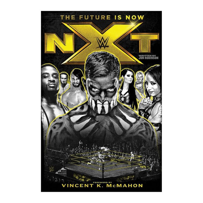 ☆阿Su倉庫☆WWE摔角 NXT The Future is Now Hardcover Book NXT全彩精裝本