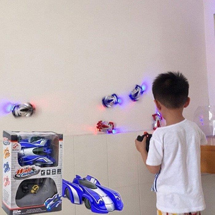 YEAHSHOP 遙控汽車吸墻車充電遙控車玩具車Y185