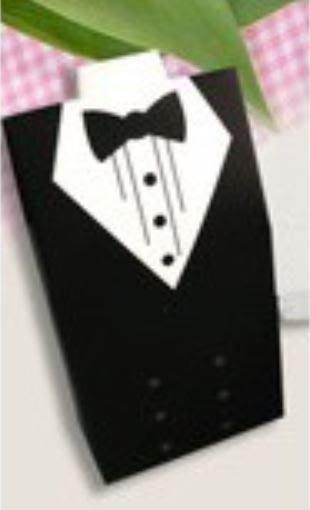 ❤愛樂芙 派對x佈置❤西裝服喜糖盒 24入出清價70元 婚禮喜糖盒 結婚糖果盒