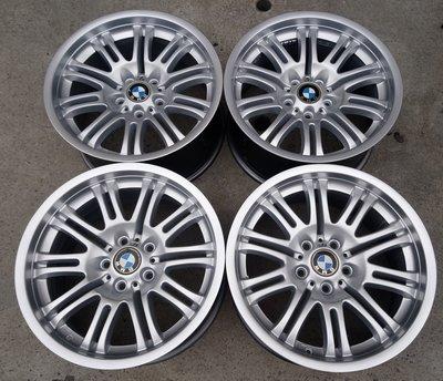 9成新 BMW原廠 正/M-power 18吋鋁圈  E65 E66 E38 E39 E60 E61 M5 540