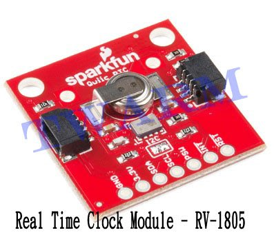 《德源科技》r) SparkFun Real Time Clock Module - RV-1805 (Qwiic)