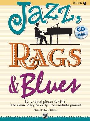 【599免運費】Jazz, Rags & Blues, 【書+1CD】Book 1  Alfred 00-36721